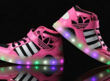 Zapatillas con luces led para niños