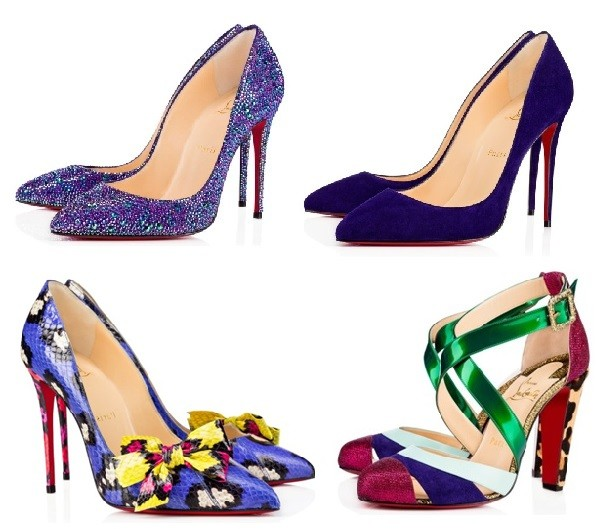 Zapatos morado tendencia IN