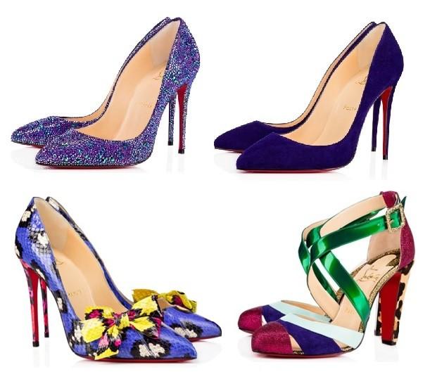 Zapatos morado tendencia IN