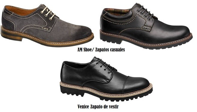 Zapatos casuales AM Shoe y Venice