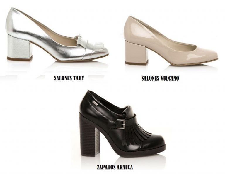 Novedades zapatos MUSTANG