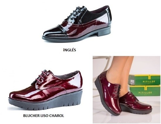 Zapatos casuales Pitillos