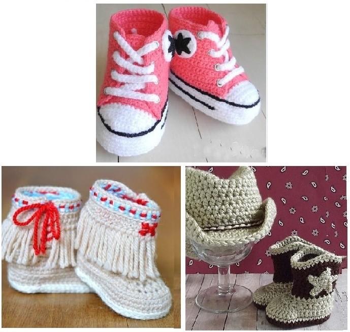 Zapatillas y botas para bebé