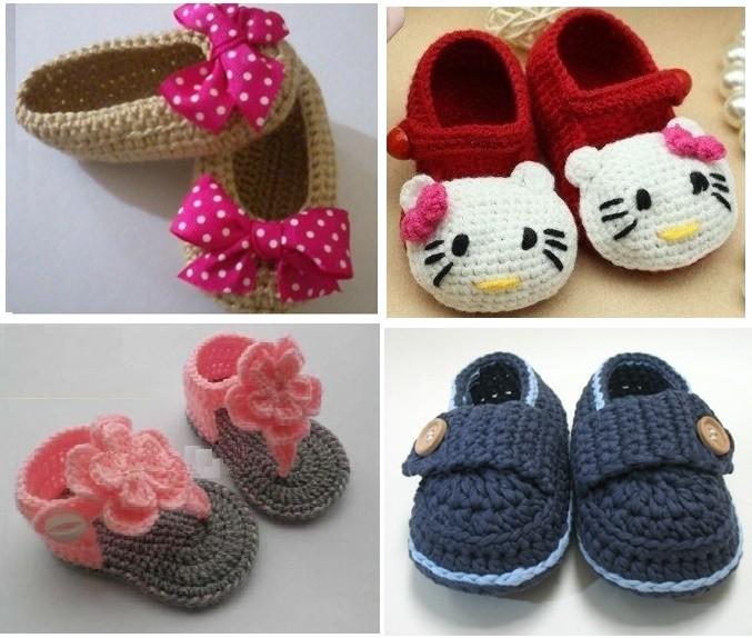 Zapatos Tejidos Para Bebé 10 Diseños Hermosos Para Ellos 2019