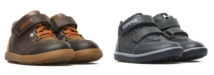 Zapatos CAMPER primeros pasos