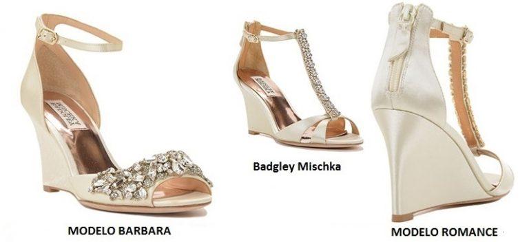 Sandalias para novias