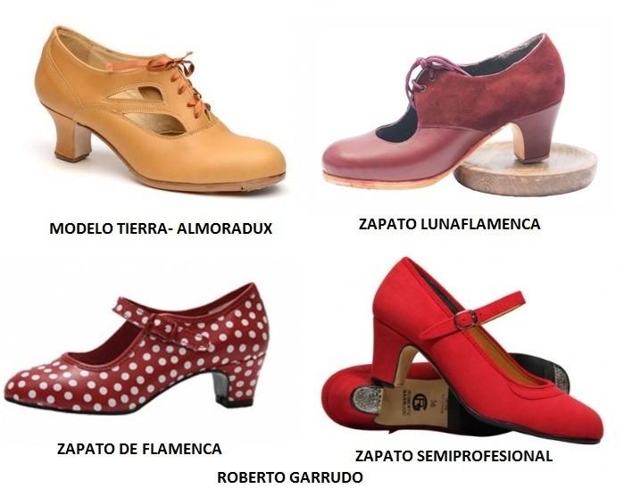 Modelos de zapatos para flamenco
