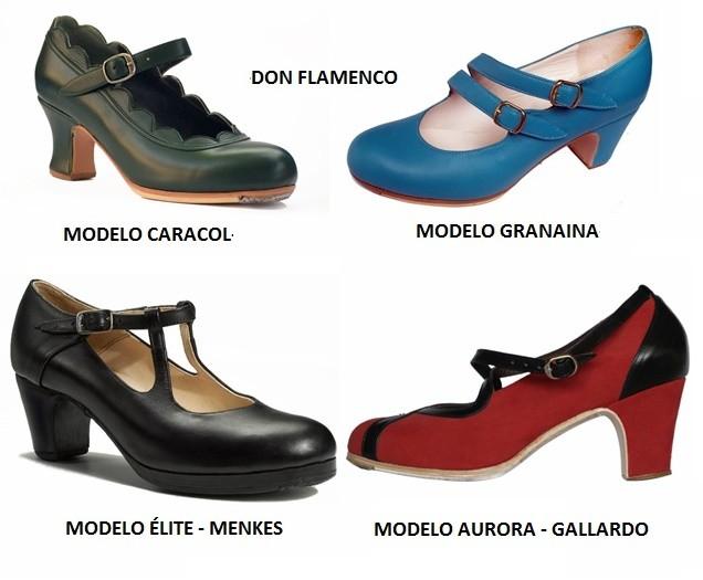 Zapatos españoles para baile