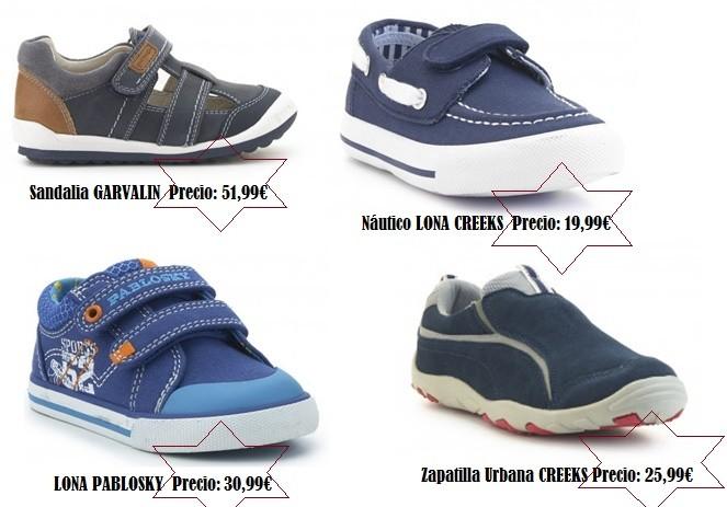 Lonas y zapatillas para niños