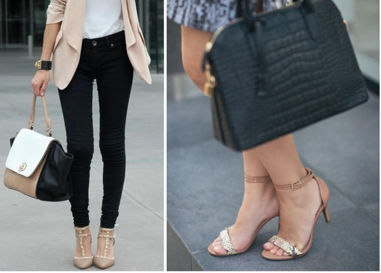Looks con zapatos nude