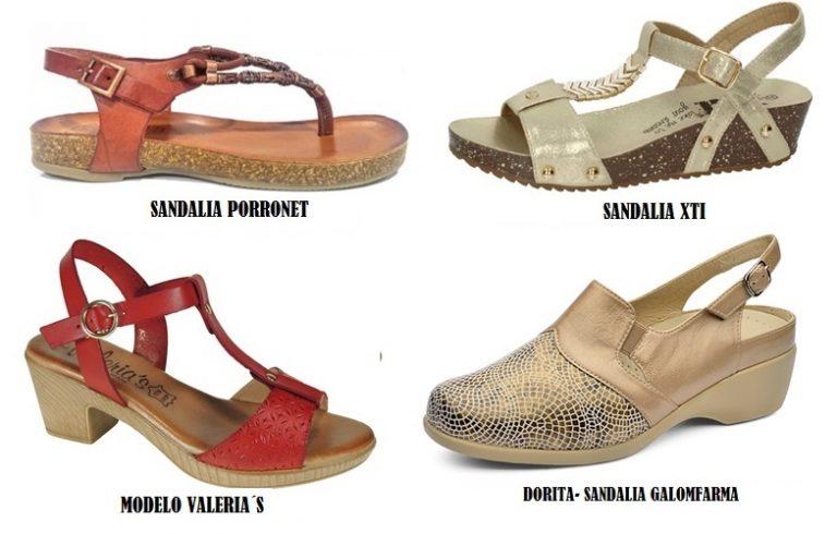 Modelos de sandalias anatómicas/Mujer