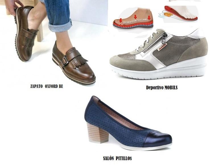 Zapatos cómodos con plantilla extraible