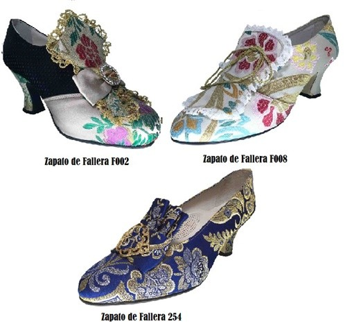 Zapato típico valenciano