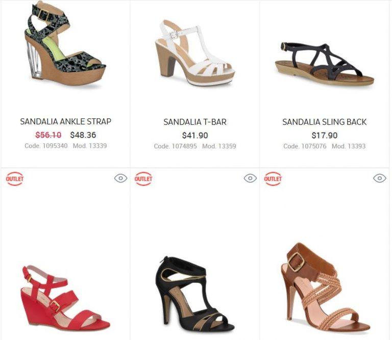 zapatos andrea para dama