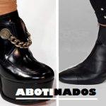 Zapatos abotinados