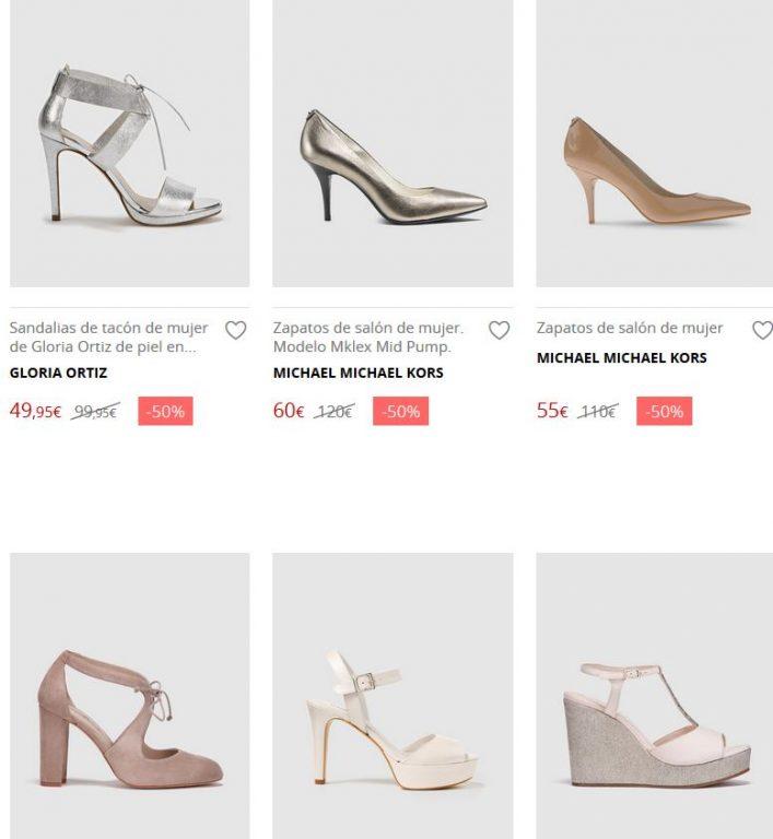 zapatos de novia mujer el corte inglés