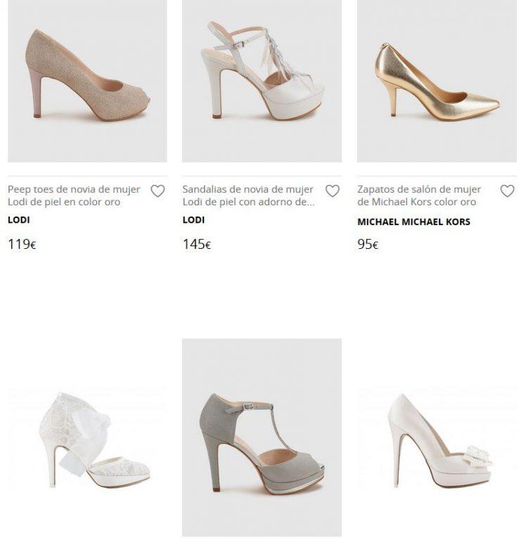 zapatos de novia mujer