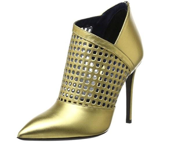 Calzado para NAVIDAD dorados y plateados